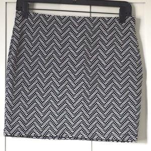 pattern skirt.